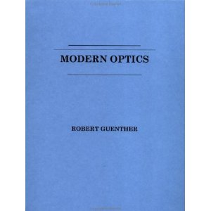 Portada del Modern Optics (de B.D.Guenther)